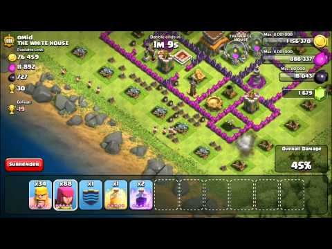 Clash of Clans: Lets Max Out TH8! #4 - Maximize Your Loot Income!
