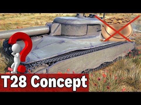 SŁABY CZOŁG Z MISJI? - T28 Concept - World of Tanks