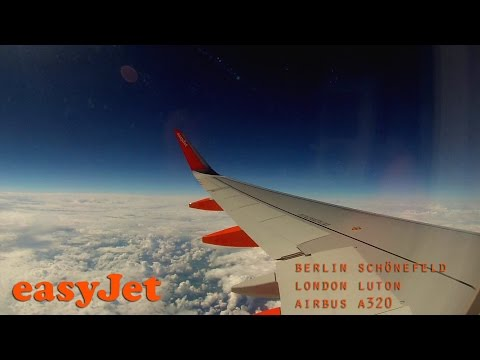Full Flight (Timelapse) - Berlin Schönefeld to London Luton (easyJet A320)
