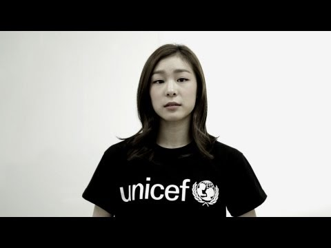 Yuna Kim: &quot;Help UNICEF help the children of Syria&quot;