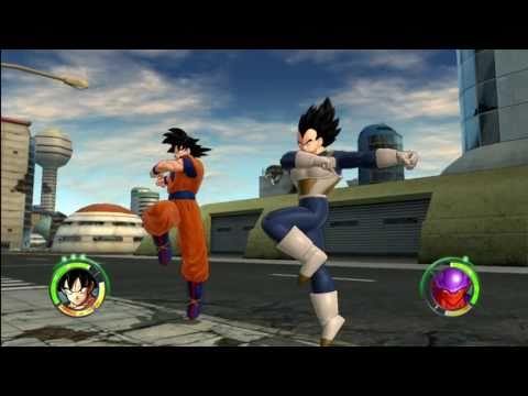 Dragonball Z Raging Blast 2 - Goku & Vegeta VS Movie Villains