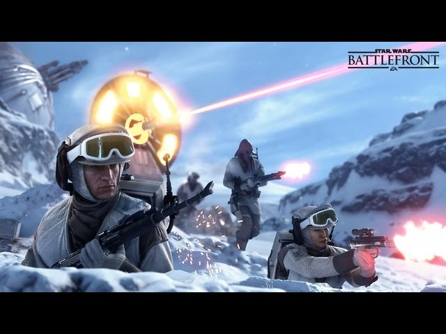 Star Wars Battlefront Gamescom 2015 Teaser