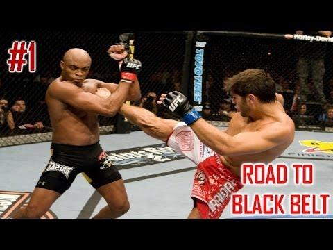 UFC 2014 PS4 | Дорога к Черному Поясу - Часть 1 - Андерсон Силва