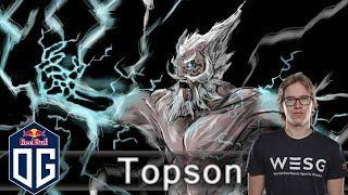 OG.Topson  -VS-  n0tail    - Ranked Match - OG Dota 2.