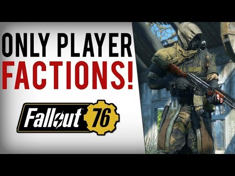 FALLOUT 76 NEW INFO - Bethesda NOT Making Factions...Will Be Players Responsibility