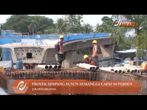 Proyek Simpang Susun Semanggi Capai 50 Persen #1