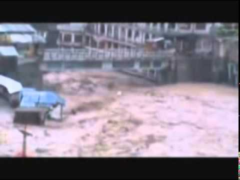 Swat Kalam Flood.mpg video