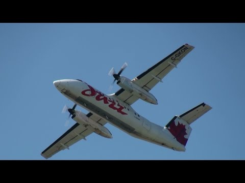 TURBOPROP TUESDAY!!! Plane Spotting Montreal Trudeau International Airport