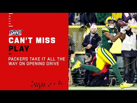 Packers Take It All the Way on Opening Drive!