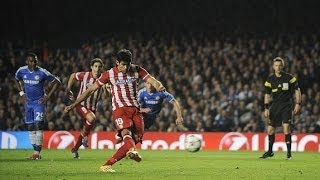 Chelsea vs Atletico Madrid 1-3 | 13/14 | [Cropped]
