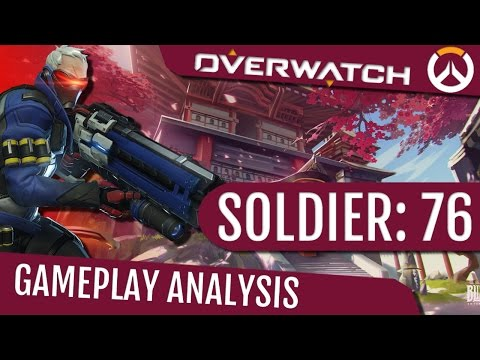 Overwatch: Soldier 76 Gameplay Analysis - Visors Are The Future