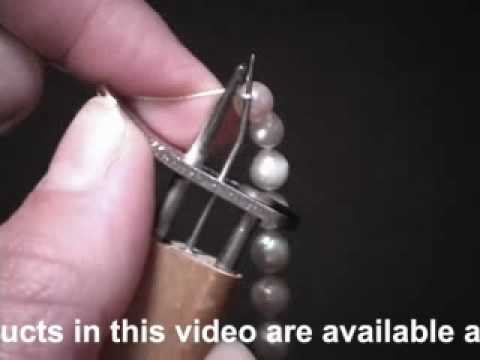 How To Use Ez Knotter Bead And Pearl Knotting Tool Youtube