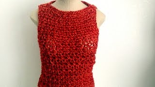 Crochet Sleeveless Sweater by Africancrab