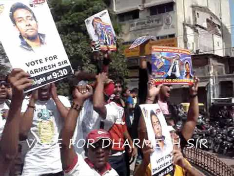 Dharmesh Sir's Fans and Students Rally in Vadodara.wmv