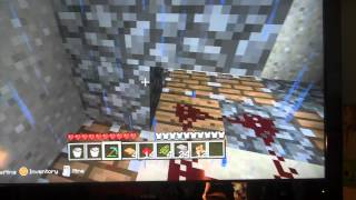 how to build a skeleton and creeper trap in minecraft