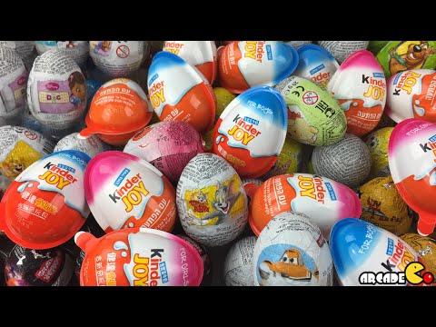 200 Surprise Eggs Disney Cars Tom and Jerry Peppa Pig Disney Princess ...