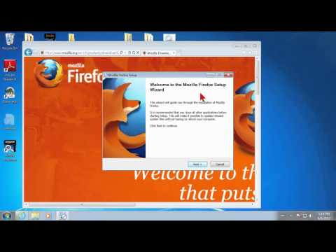 How to Install Firefox on Windows 7