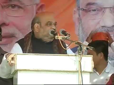 Shri Amit Shah addresses public rally at Bazaar tand stadium,Simdega, Jharkhand: 26.11.2014