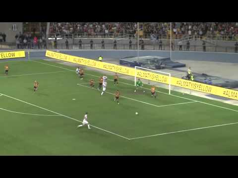 Лига Европы. Кайрат - Бордо. 2-1