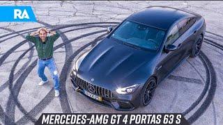 Mercedes-AMG GT 4 portas 63 S. O AMG mais POTENTE da atualidade
