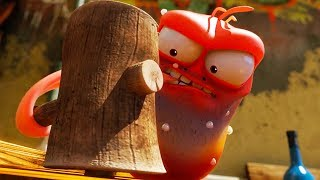 LARVA - HARD WORK | Cartoon Movie | Cartoons For Children | Larva Cartoon | LARVA Official