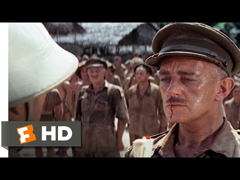 The Bridge On The River Kwai (1/8) Movie CLIP - The Coward's Code (1957) HD