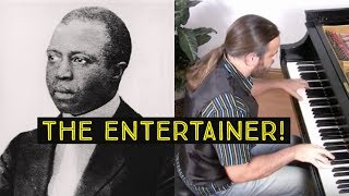 The Entertainer By Scott Joplin Cory Hall Pianist Composer