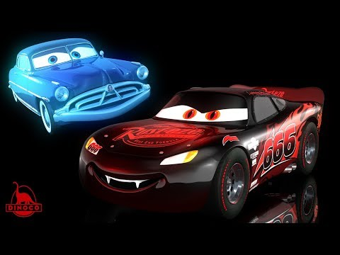 Cars 3 ⚡️ Ghost Doc Hudson + Evil McQueen (Nightmarecraft)