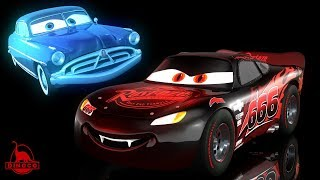 Cars 3 ?? Ghost Doc Hudson + Evil McQueen (Nightmarecraft)