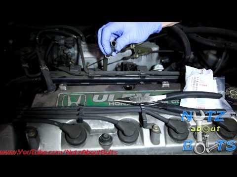 1998-2002 Honda Accord PCV valve remove and install