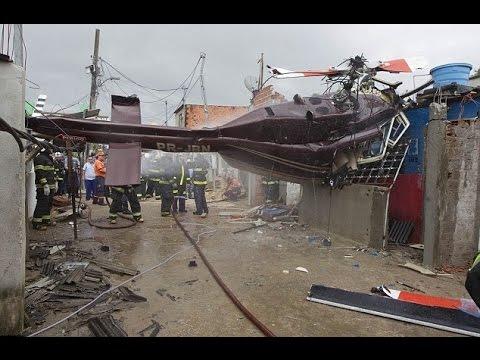 Brazil, 4 dead in helicopter crash