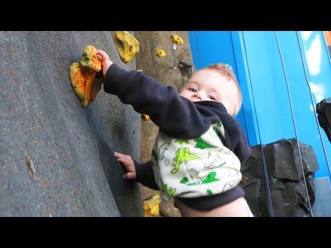 CRAZY ROCK CLIMBING BABY!!