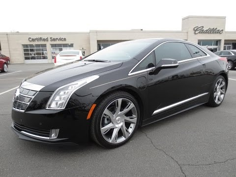 2014 Cadillac ELR Start Up. Test Drive. and In Depth Review