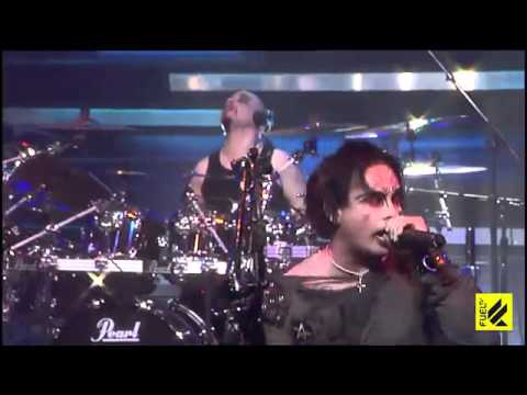 cradle of filth - nymphétamine live