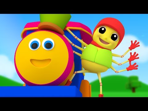 Bob The Train | Incy Wincy Spider | Nursery Rhymes | Kids Songs | Baby Rhymes | Kids Tv Cartoons