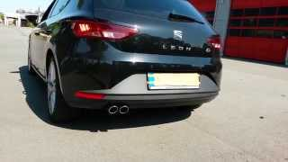 Seat Leon 5F FR 1.4 TSI + Active Sound Exhaust System (Sound Aktuator)