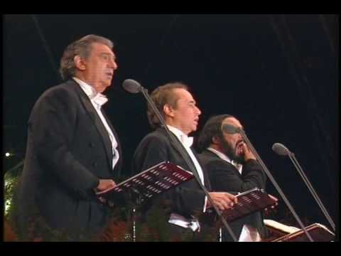 ТенорА xxi века - Памяти Карузо. the 3 tenors o sole mio 1994. sarah bright