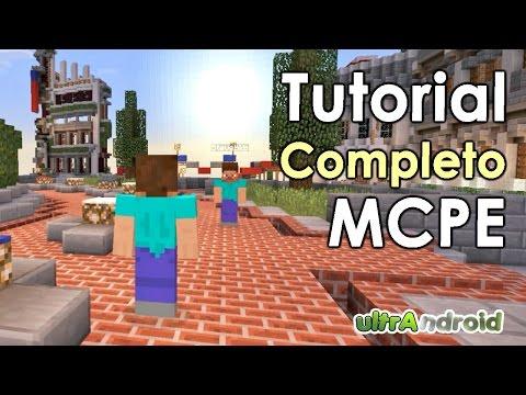Como Registrarse Loguearse en MCPE para Jugar Online 0.10.5 // Como Jugar Minecraft PE Online 2015