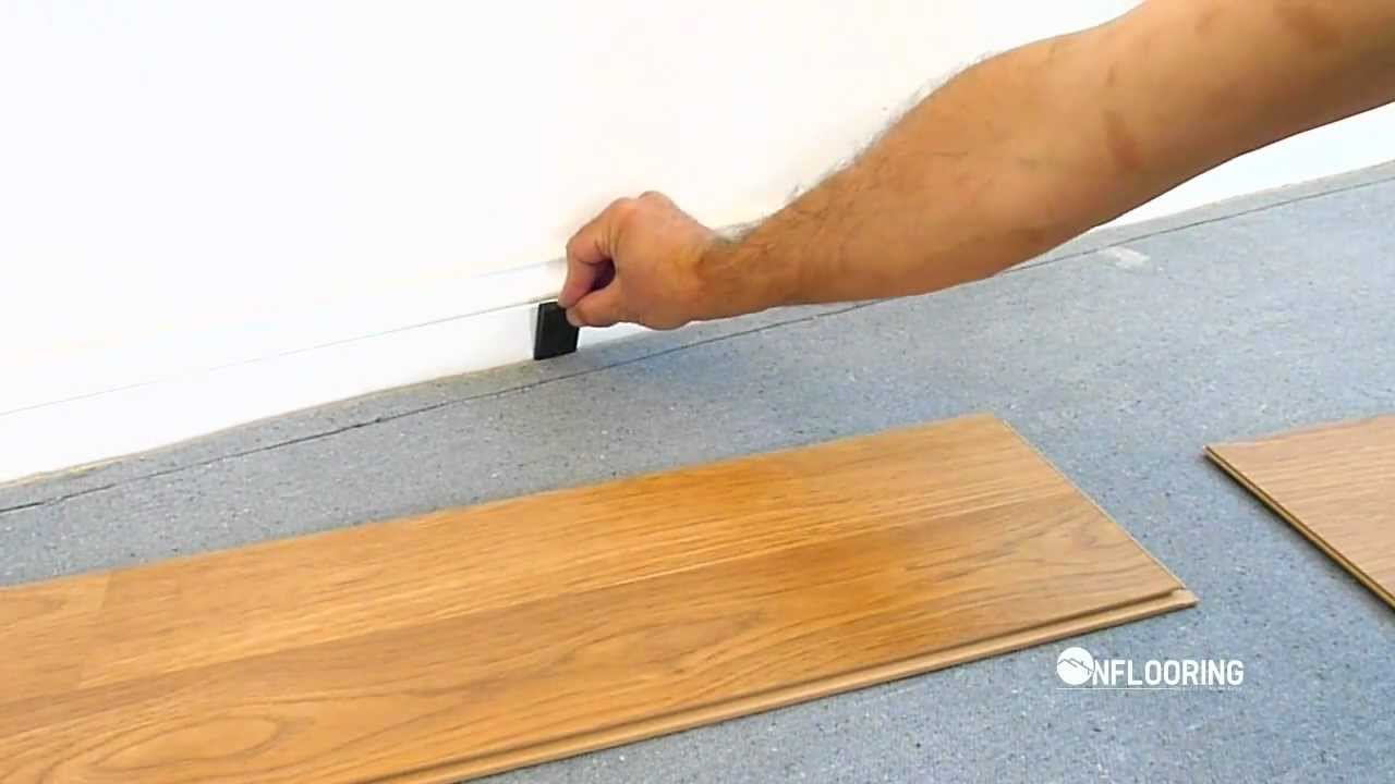 Onflooring floating laminate flooring uniclic how to for Uniclic flooring