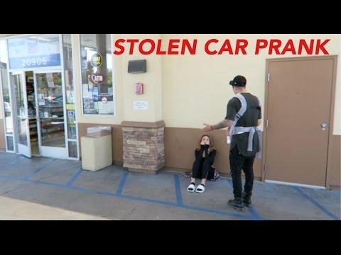 STOLEN CAR PRANK ON BOYFRIEND!!!
