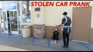 STOLEN CAR PRANK ON BOYFRIEND!!!
