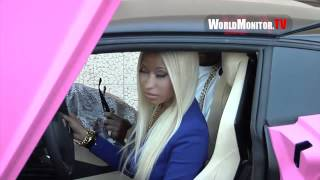 Download Lagu Nicki Minaj shows off All Pink Lamborghini during launch of her Collection at Kmart Gratis STAFABAND