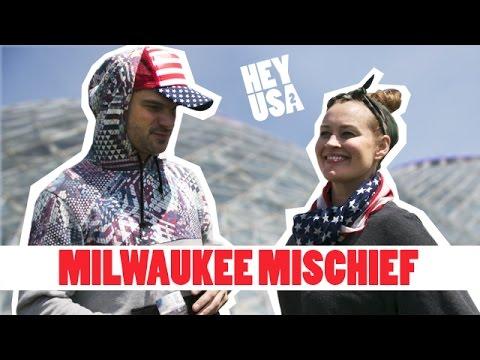 Mamrie + Flula: Milwaukee Part 1