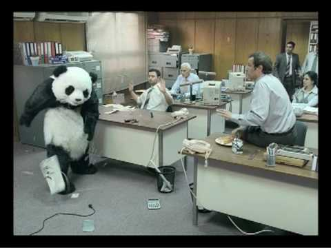 Never Say No To Panda Office اعلان باندا اعلانات بانده