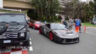 Prior Design Cars in Monaco at TopMarques 2015 - Sound and Acceleration