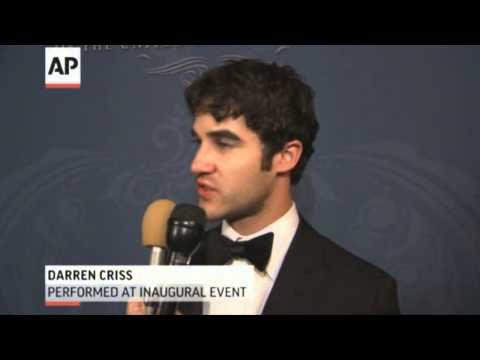 Darren Criss Interview at Obama's Inaugural Ball - Legendado PT-BR