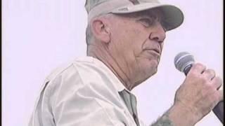 R Lee Ermy at Tallil (Ali) AB, Iraq May 2003
