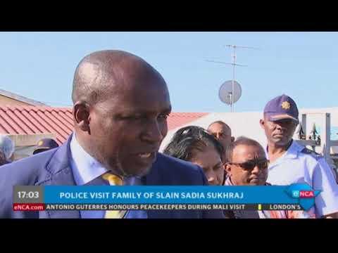 Police visit family of slain Sadia Sukhraj thumbnail