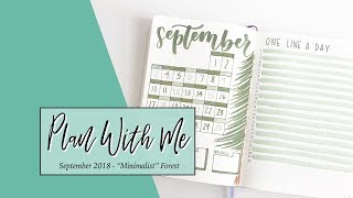Plan With Me September 2018 | Followers Choose My Bullet Journal Set Up!