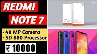 Redmi Note 7 launch date & price in India  Review of Specification  New Budget KILLER !!!